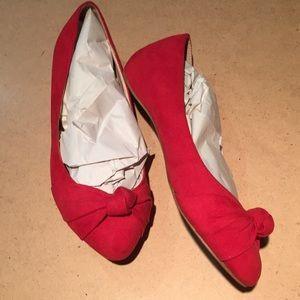 G.C Women's Red Flats
